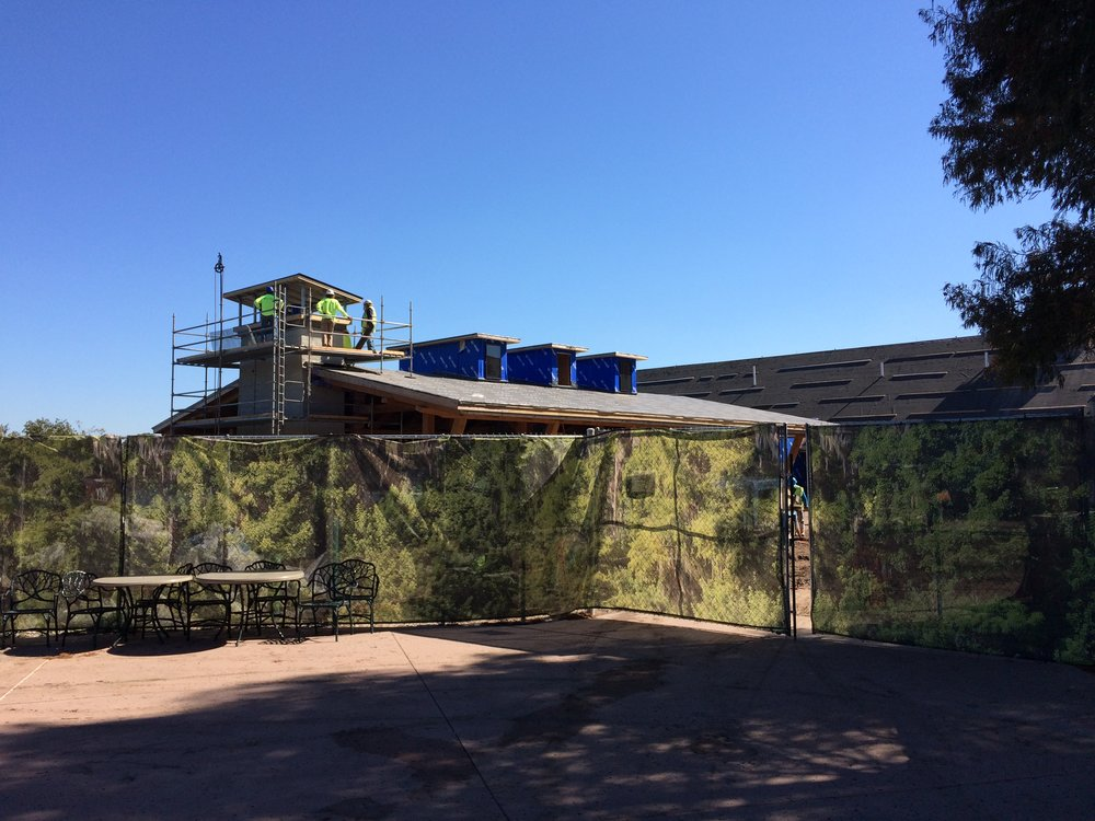 Construction update at Disney's Wilderness Lodge Resort Nov. 2016