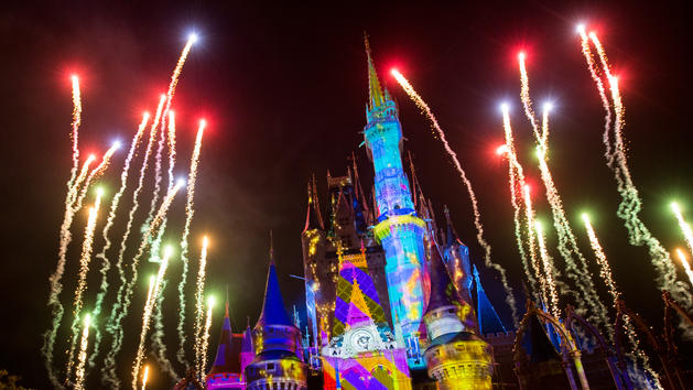 New Cinderella Castle Show at Magic Kingdom Park