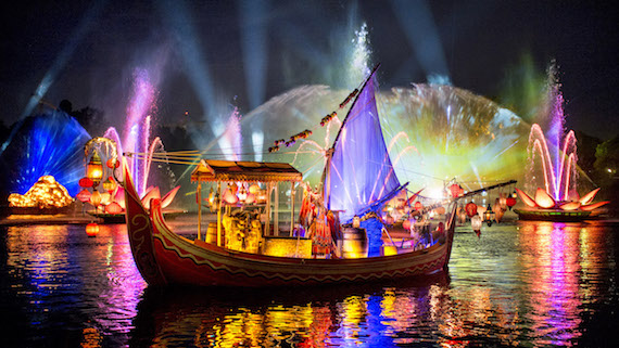 Rivers of Light Set to Open at Disney's Animal Kingdom Theme Park, February 2017.
