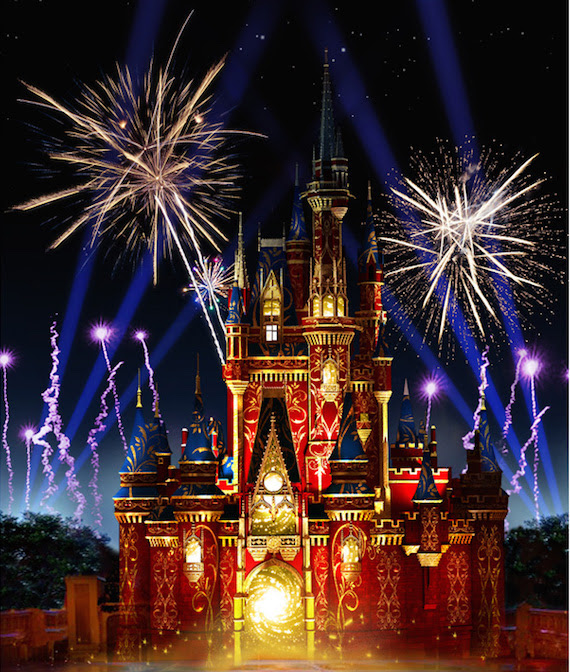 """HAPPILY EVER AFTER,"" NIGHTTIME SPECTACULAR WILL DEBUT AT MAGIC KINGDOM PARK MAY 12"