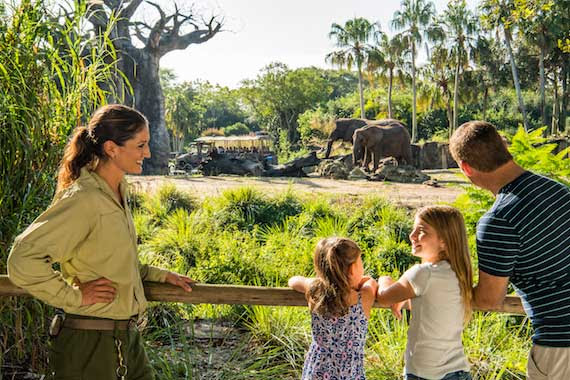 "NEW ELEPHANT VIEWING EXPERIENCE ""CARING FOR GIANTS"" AT DISNEY'S ANIMAL KINGDOM"