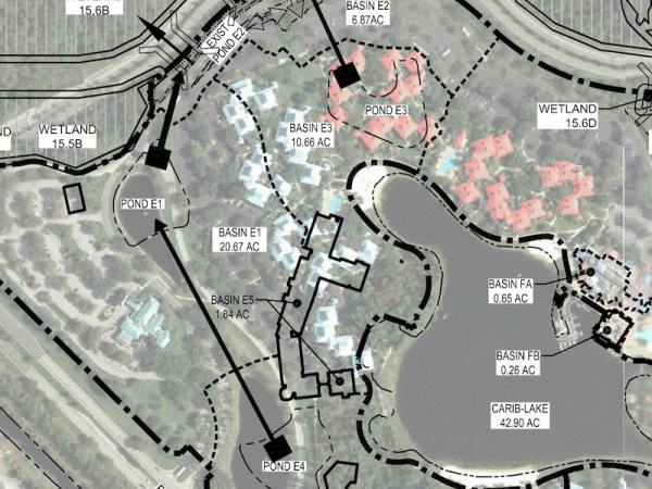 Disney's Caribbean Beach Resort Construction Plans 2017. Image courtesy DVCNews.com