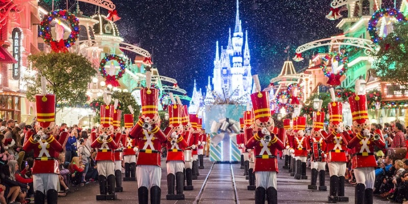 Tickets on sale now for Mickey's Very Merry Christmas Party at Magic Kingdom Park.