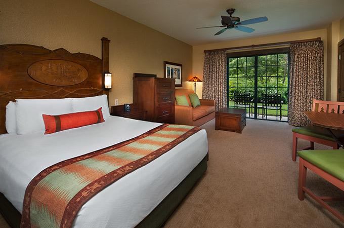 Deluxe Studio at Boulder Ridge Villas - Disney's Wilderness Lodge Resort