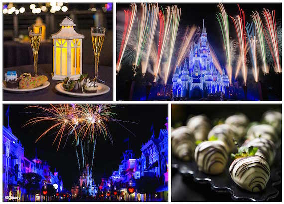 Dessert parties are now available at Magic Kingdom Park this holiday season.
