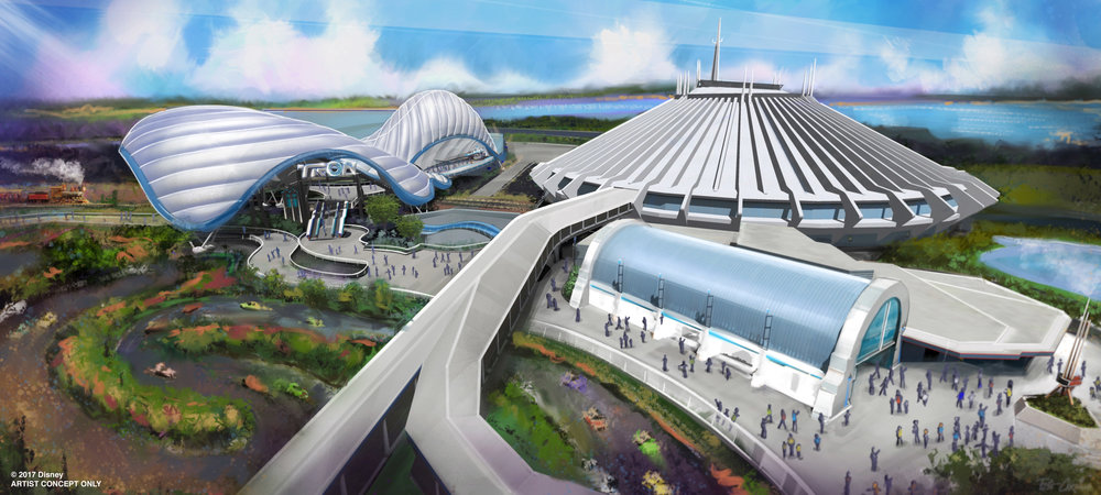A coaster-style attraction based on Tron is in the works for Magic Kingdom Park.
