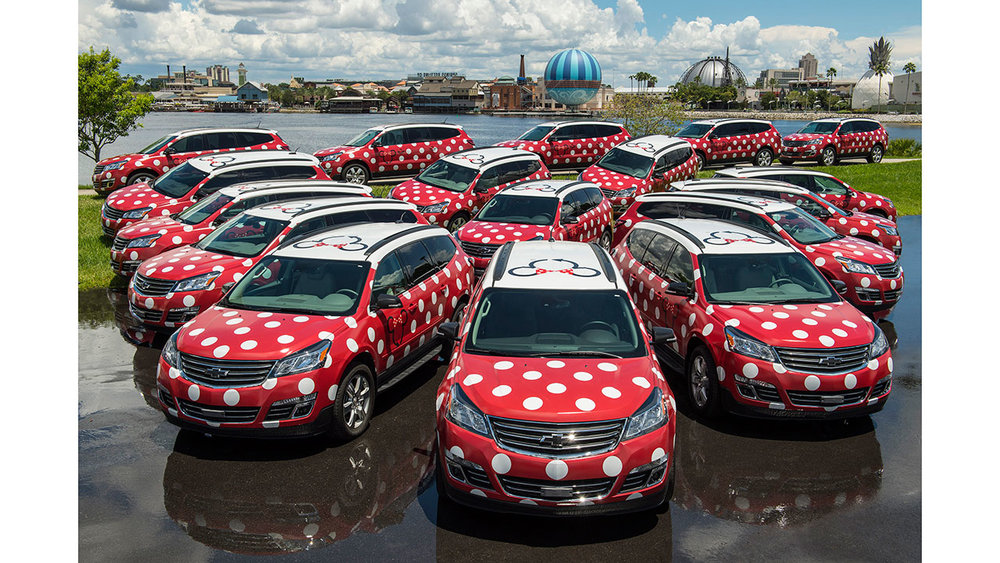 Walt Disney World Minnie Van Service Begins