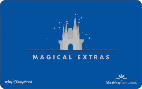 Magical Extras Card - Walt Disney World Resort