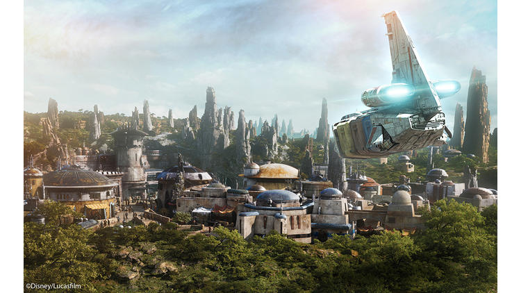 The name of the planet in Walt Disney World's new Star Wars: Galaxy's Edge opening is Batuu - a planet on the outer rim of the Star Wars galaxy.