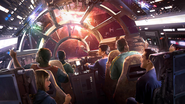 Guests will be able to fly the Millennium Falcon at Walt Disney World Resort.