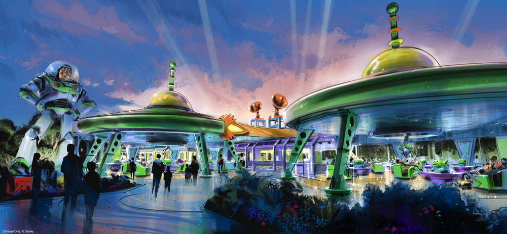 Toy Story Land Opens Summer 2018