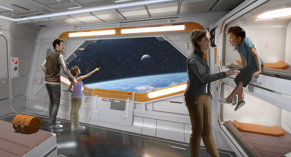Disney Star Wars Hotel concept