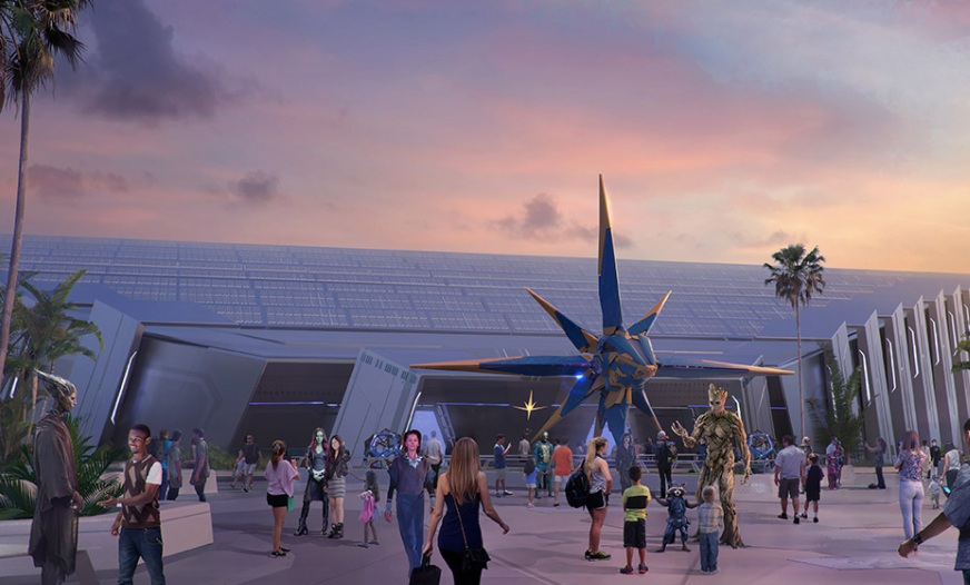 Guardians of the Galaxy Ride - Epcot