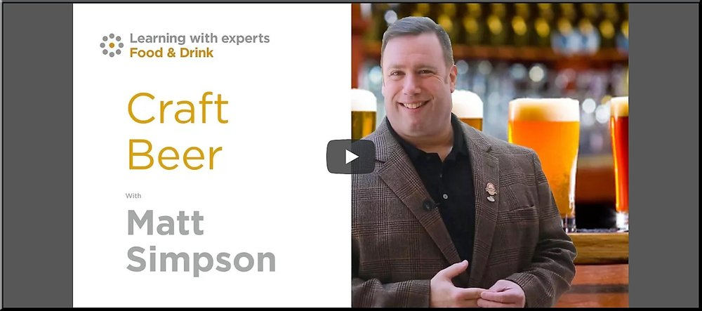 Craft Beer Online course with Matt Simpson