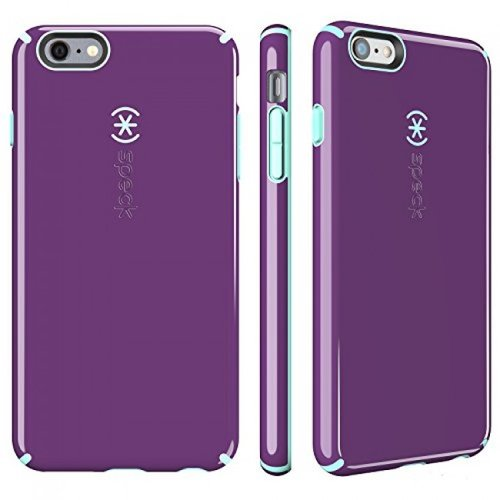 new styles a4ce5 79454 Speck Products CandyShell Case for iPhone 6 Plus/6s Plus Acai Purple/Aloe  Green