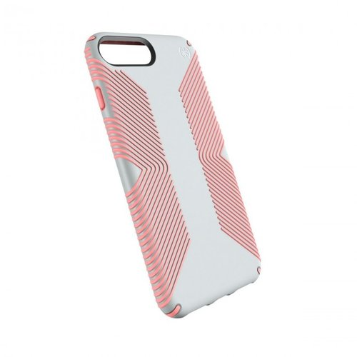 promo code 3af1d 2be54 Speck iPhone 8 Plus/7 Plus/6 Plus/6S Plus Presidio Grip - Dove Grey/Tart  Pink