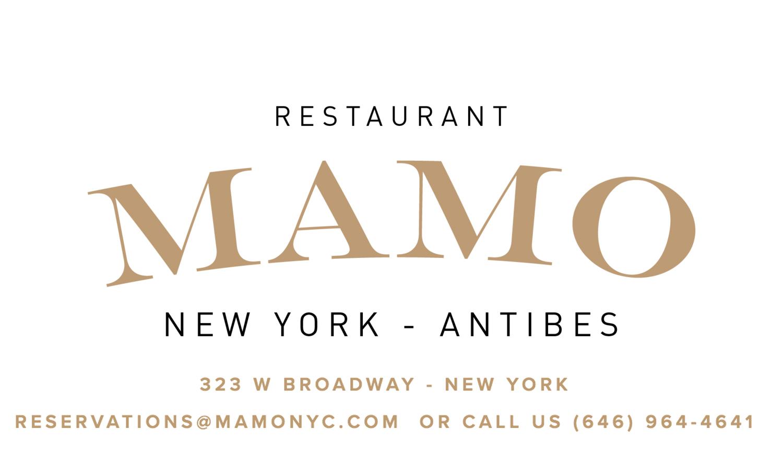 Mamo Restaurant Menu