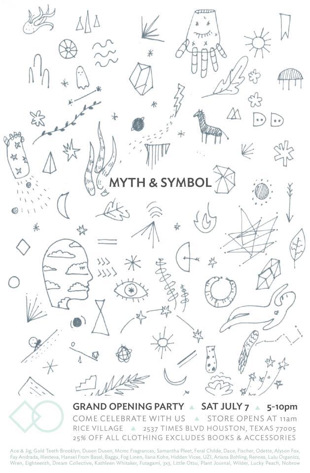 Myth+Symbol Flyer