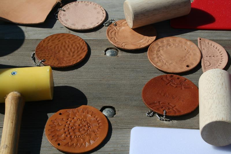 Canoe Leather Tooling Workshop, 9/30/12