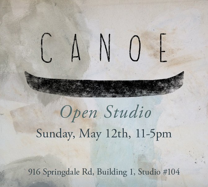 Canoe Open Studio May 12 2013