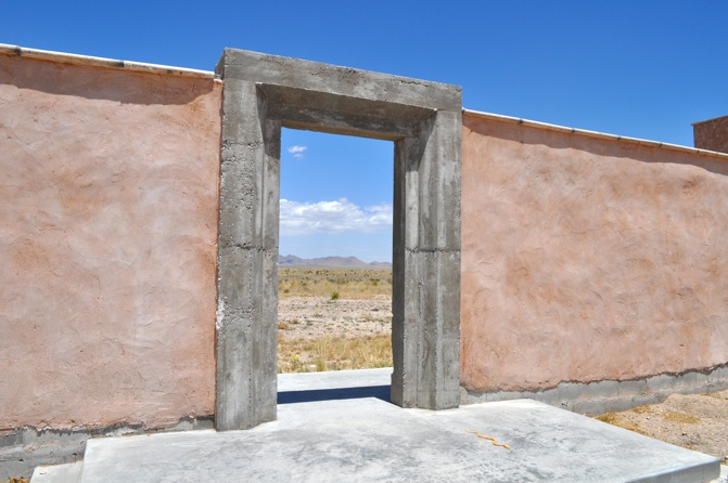 Marfa Doorway by Natalie Davis