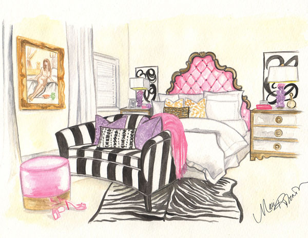 Bedroom Illustration