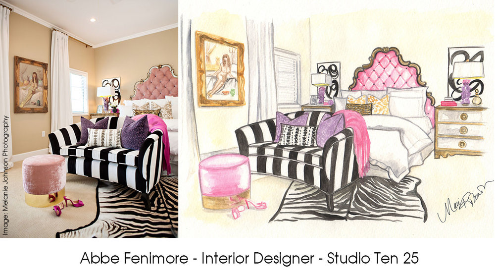 Abbe is one of the very few designers that actually inspires me so much that I want to paint her rooms.