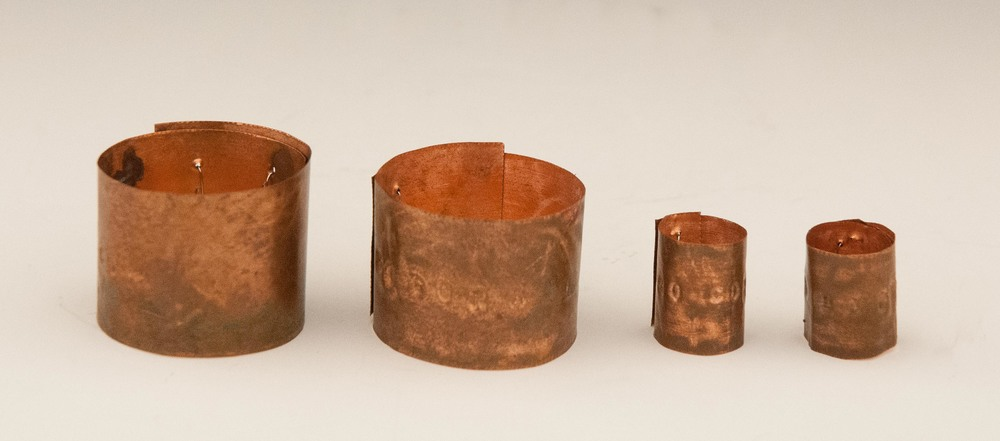 LEG BANDS - COPPER