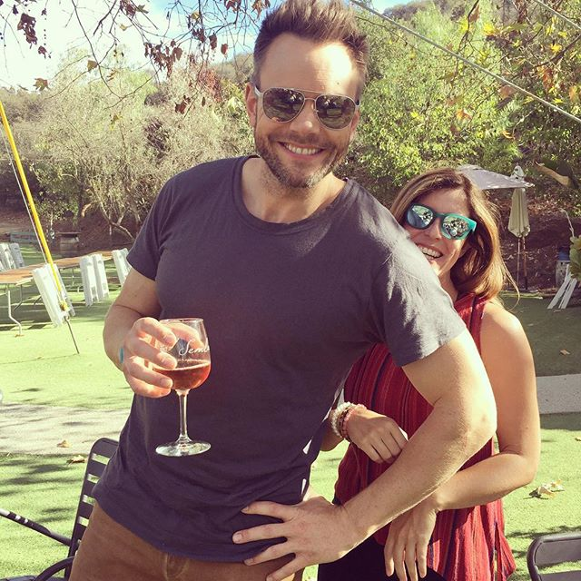 Even though @joelmchale prefers The Great Indoors, it was nice to have him come visit us in the great outdoors. . . Next weekend we have Live Band Karaoke with @casualencounterskaraoke on Saturday. Sunday @malibufamilywines will be having a member party at @saddlerockranch! . . Wine club members Unite!! . . . . . #losangeles #malibu #california @greatindoorscbs #greatindoors #greatoutdoors #thesoup #someaty #wine #travel