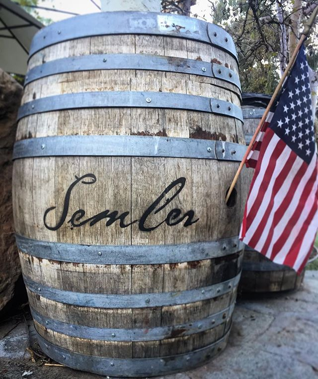 Cheers! To all the brave men and women who have fought for, or are fighting for, this country. Your bravery and sacrifice has not gone unnoticed, and we are forever indebted to you. . . Happy Veterans Day! . . . . . #veteransday #wine #onenation #semperfi #veterans #supportyourveteran #malibuwines #tasting #winetasting #heroes