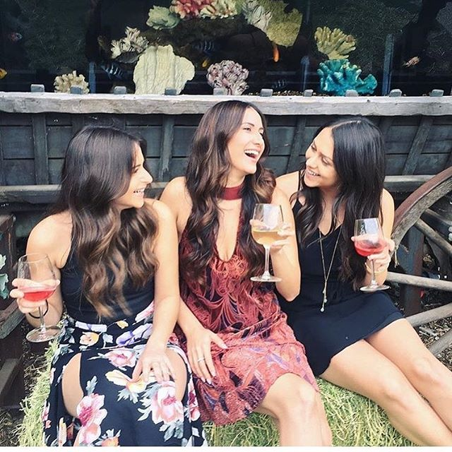 You can't beat being surrounded by beautiful women, great wine, and amazing weather. . . Friday is movie night! Featuring The Nightmare Before Christmas. . . Free Admission (just buy wine) . Starts at 7:30pm. . 21+ only. . . . . #winetasting #novemeber #malibuwines #beautiful #photooftheday pc:: @farrahnicolee  #wine #friends #fun #movienight #movie #losangeles #malibu #trifecta