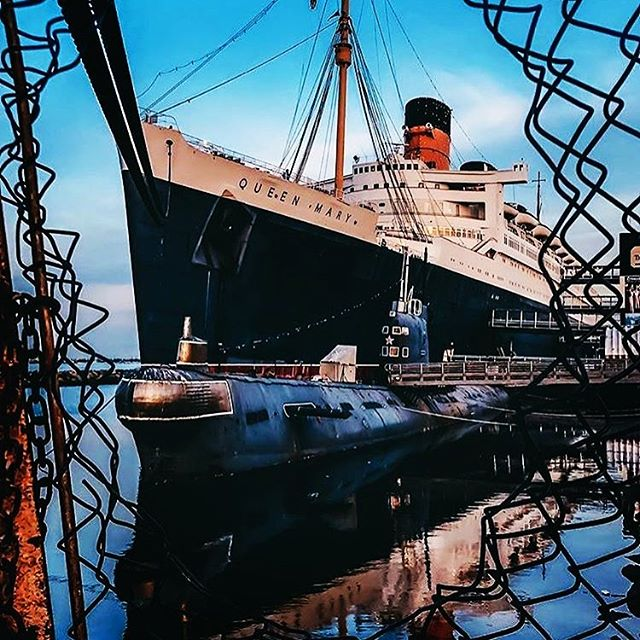 Today only, the Queen Mary is offering free entry after 3pm with discounted parking. Come visit us for an afternoon sip on the sundeck. #malibuwines #queenmary #longbeach