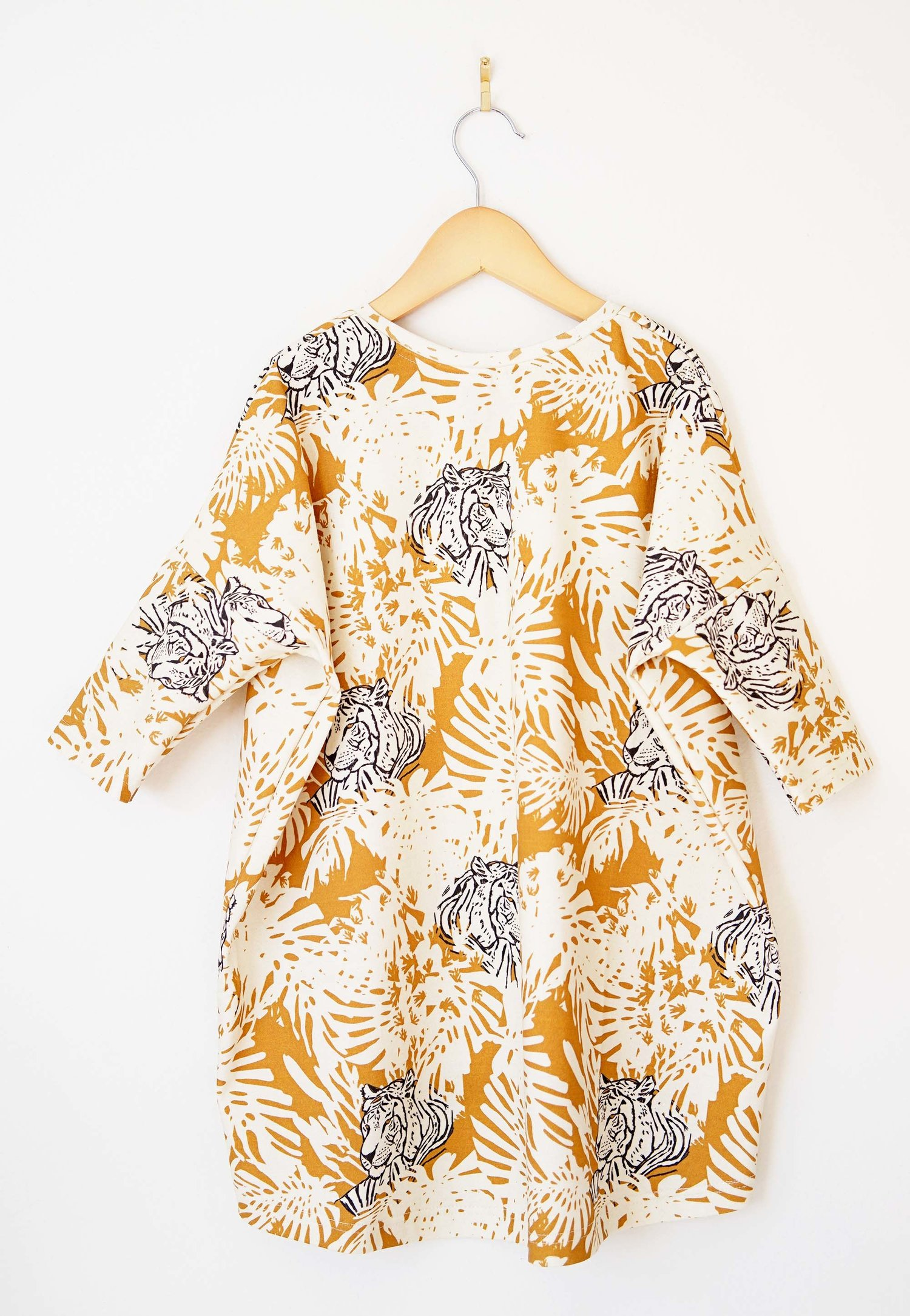 c456bda320d tunic dress    jungle tiger — Lola   Stella