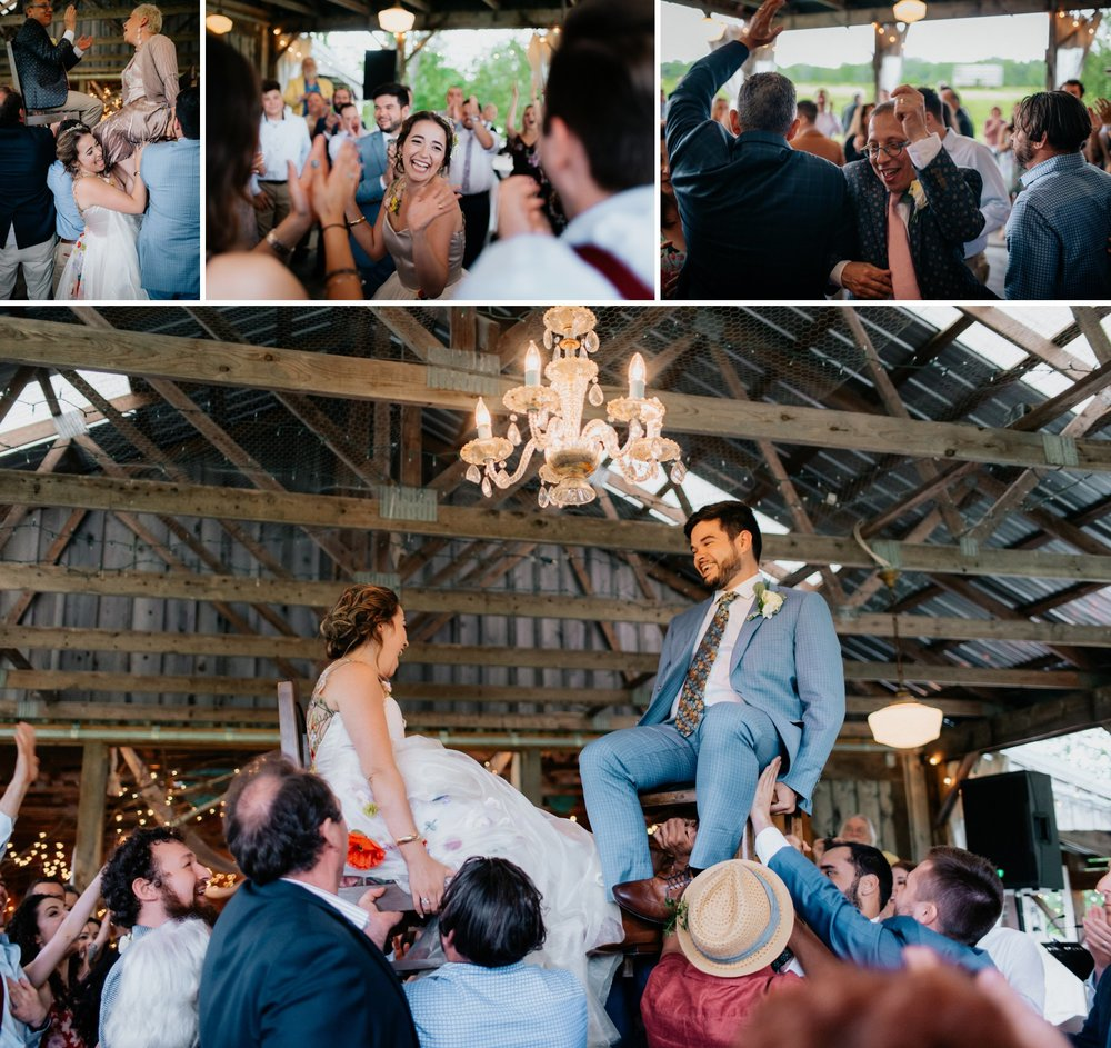 Fiddle Lake Farm Philadelphia Pennsylvania Misty Rustic Wedding with Lush Florals Hora