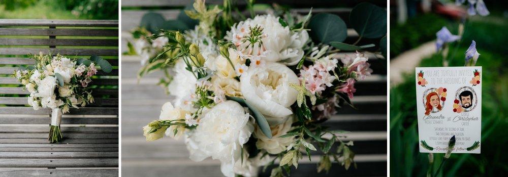 Fiddle Lake Farm Philadelphia Pennsylvania Misty Rustic Wedding with Lush Florals