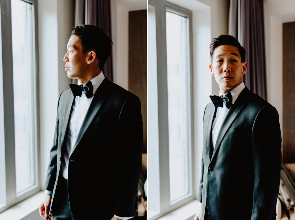 Modern Philadelphia Wedding with a Traditional Tea Ceremony and other Asian Traditions with Glamorous Portraits
