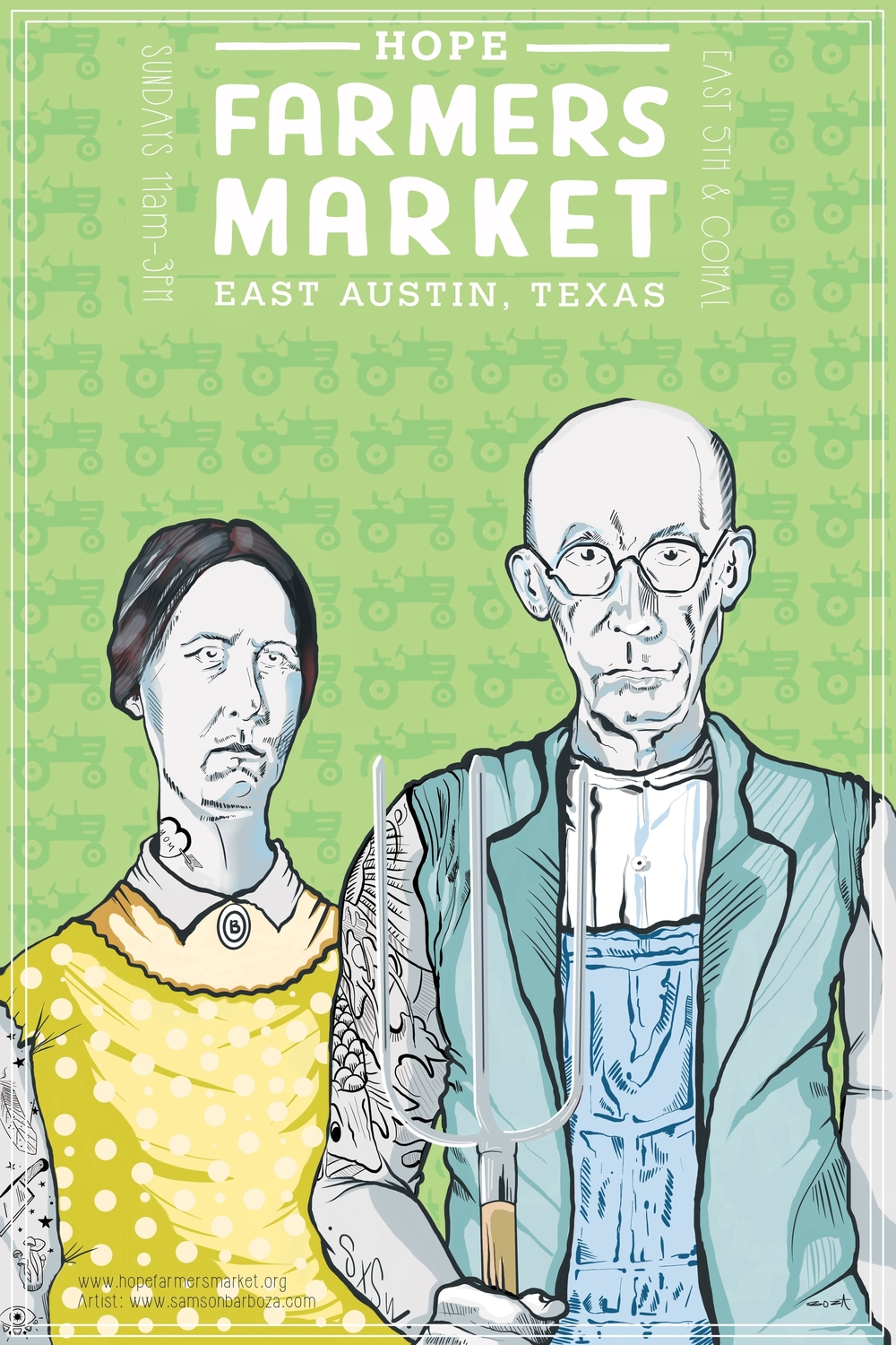 HOPE Farmers Market Poster 2016