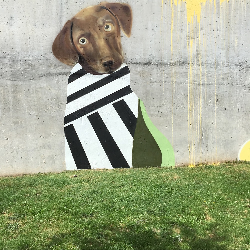 Burnet Flats Mural - Austin, TX