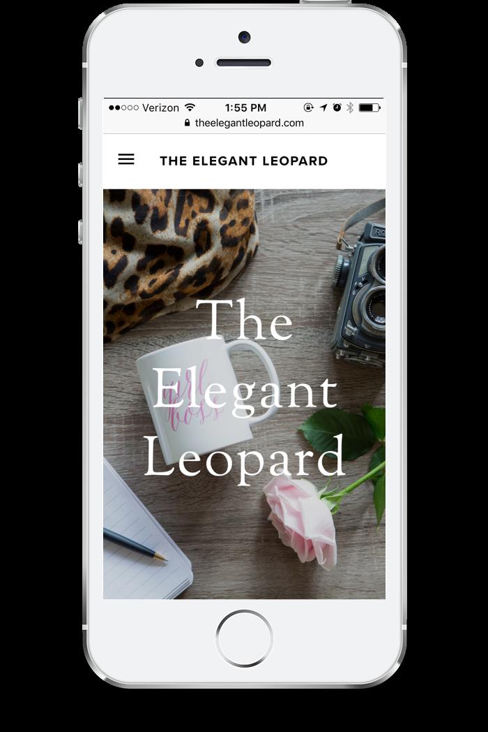 The Elegant Leopard