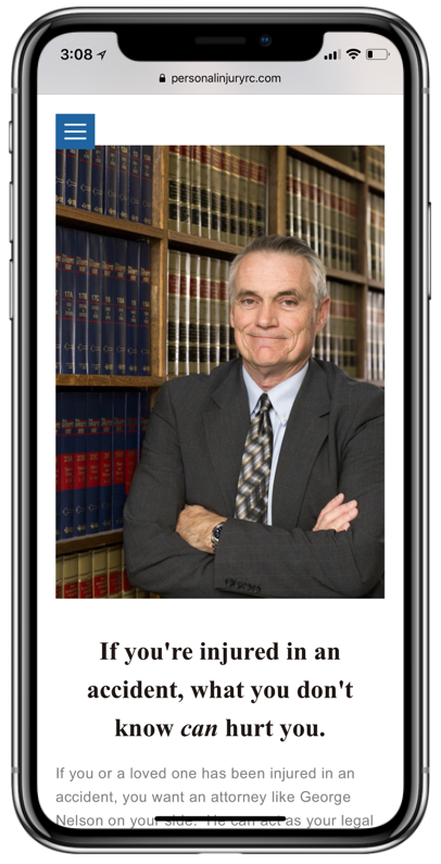 George J Nelson- Personal Injury Law