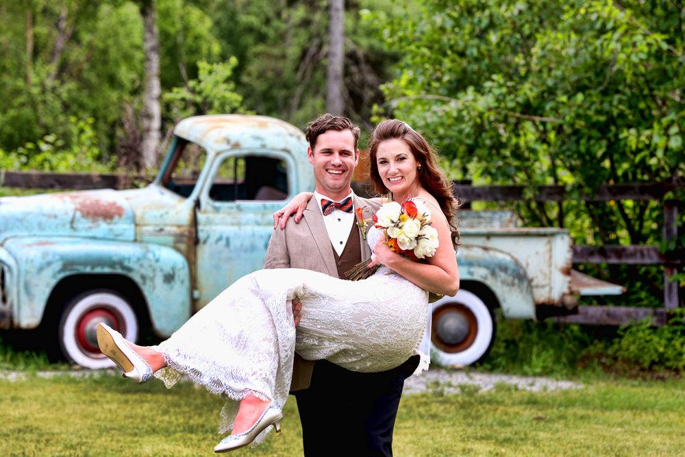 barn wedding with truck.jpg