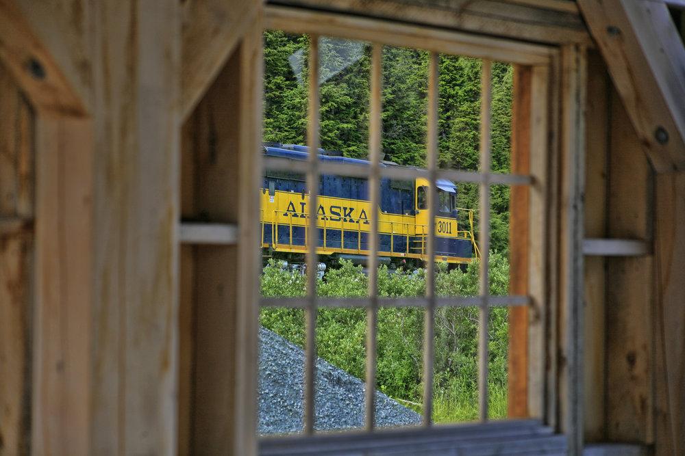 Grandview Window At Train