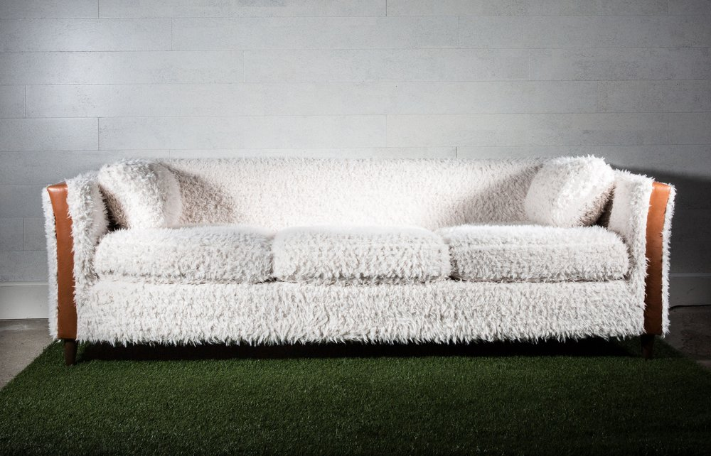 Superieur Furry Sofa By Recovered Interior For Rider For Life