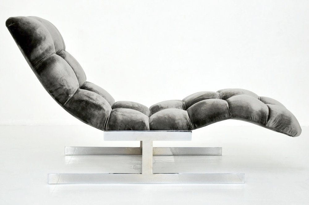 Recovered Interior Milo Baughman Chaise