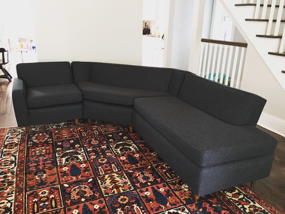 Recovered Interior MCM Sectional
