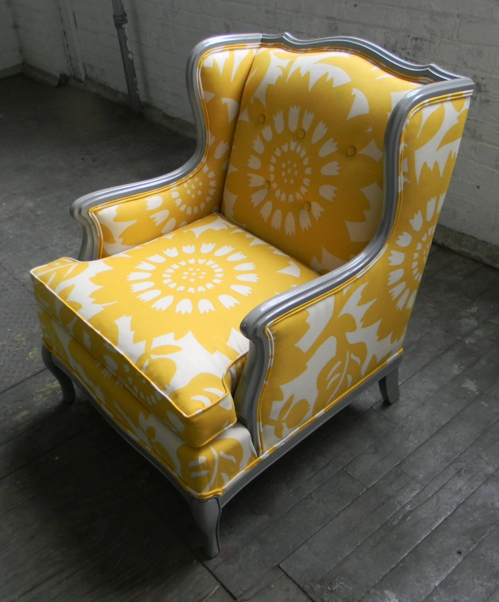 Recovered Interior Sunny Chair