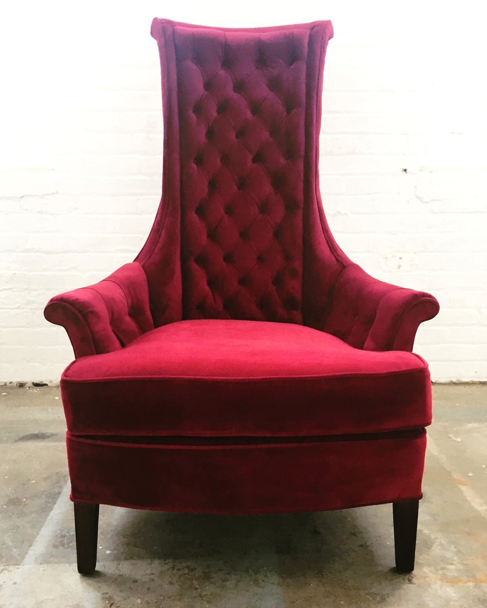 Recovered Interior Throne Chair
