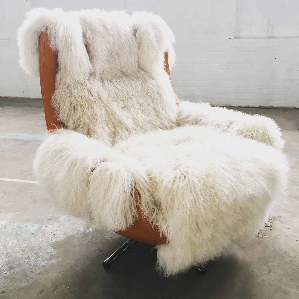 Recovered Interior Rider For Life Animal Chair