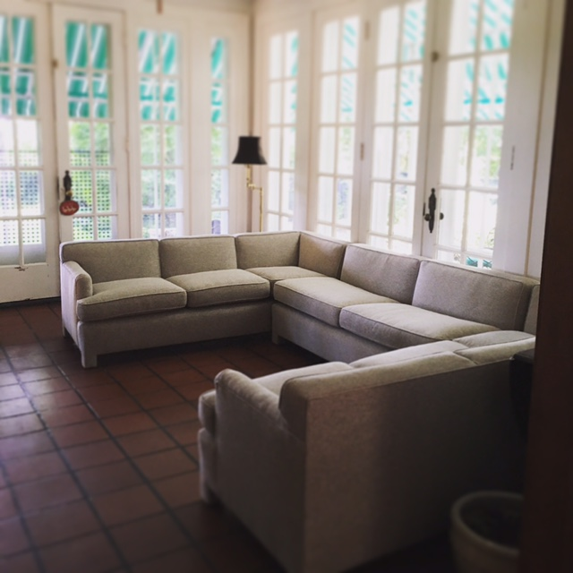 Recovered Interior Sunroom Sectional