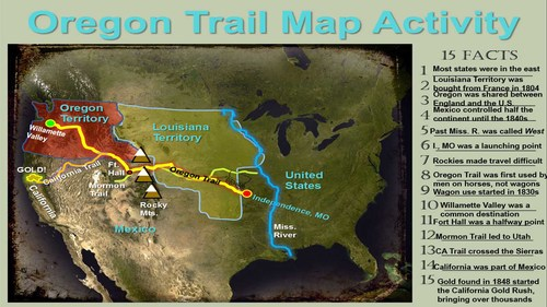 Oregon trail map activity follow along to map routes and more oregon trail map activity follow along to map routes and more publicscrutiny Image collections